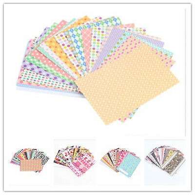 Wholesale 20pcs Film Pattern Decoration Paper Photo Adhesive Tape Sticker DIY