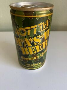 Vintage Mash 4077th Beer Can Collectible Camo With Stay Tab (Empty)