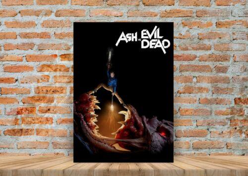 Ash Vs The Evil Dead TV Show Poster Canvas Art Print Framed Option A3 A4