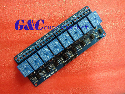 5V 8--Channel Relay Module with optocoupler for Arduino PIC ARM DSP AVR