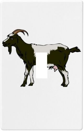 Goat Farm Animal Wallplate Wall Plate Decorative Light Switch Plate Cover