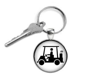 Golf-Cart-Keyring-Golfing-Gifts-for-Him-Gifts-for-Her-Key-Chain