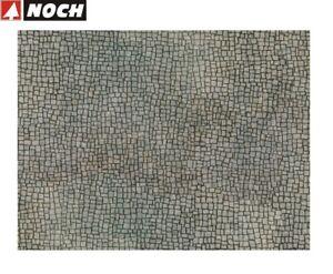 NOCH-H0-56723-3D-Kartonplatte-034-Unregelmaessiges-Pflaster-034-1-m-57-28-NEU