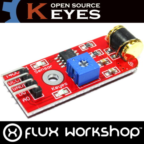 Keyes Vibration Sensor Module KY-075 801S 20cm Infrared Arduino Pi Flux Workshop