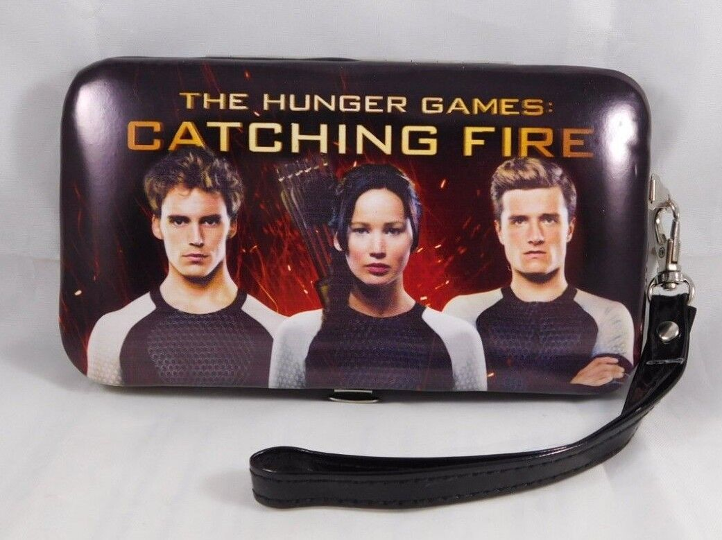 Hunger Games Catching Fire Smartphone Wallet Wristlet iPhone 4/4S/5 NWOT