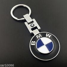 3D Chrome Pendant Keychain Key Chain Ring For BMW M1 M3 M5 M6 X1 X3 X5 X6 Z4 M4