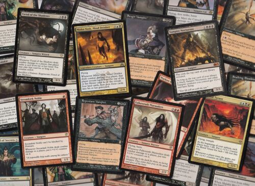 Commander Magic MTG FTG 50 Different Vampire Cards w// 5 RARES 50 Unique