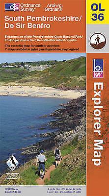 (Good)-South Pembrokeshire (OS Explorer Map) (Map)-Ordnance Survey-0319241610