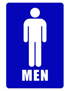 Image Is Loading Bathroom Sign MENS ROOM SIGN Aluminum NO RUST