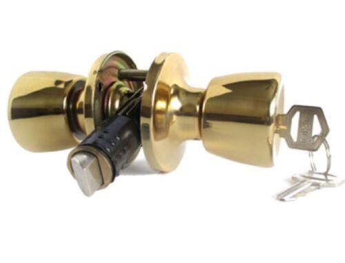 Mobile Home//RV Interior Lock Brass with Keyed Lock