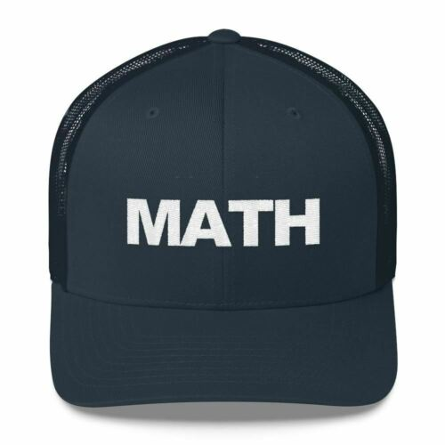 Andrew Yang MATH Trucker Hat