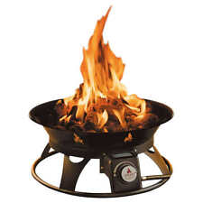 Outland Firebowl Mega 24 In Portable Steel Propane Gas Fire Pit Outdoor Patio For Sale Online Ebay