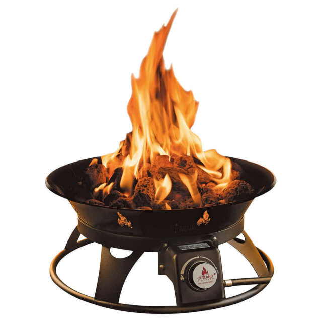OUTLAND Firebowl Cypress Outdoor Firepit Carry Kit ... on Outland Living Cypress Fire Pit id=26232