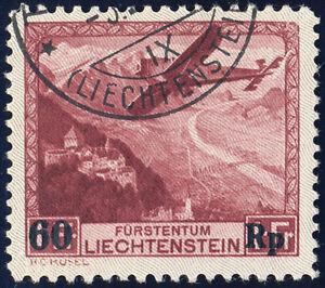 LIECHTENSTEIN-1935-MiNr-248-I-guter-Plattenfehler-gestempelt-Mi-250