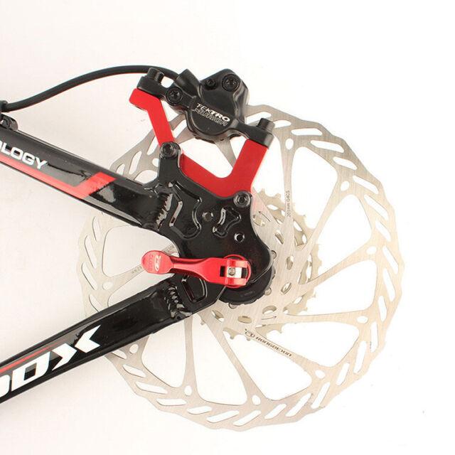 Bike Disc Brake Caliper Mount Adapter Front 160//180 Rear 140//  HVYBZ