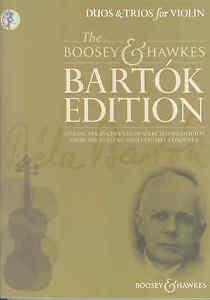 Enthousiaste Bartok Edition Duos & Trios Pour Violon + Cd-afficher Le Titre D'origine Vente De Fin D'AnnéE