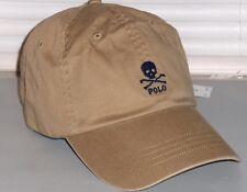 78a9e1ca0bb89a item 3 POLO RALPH LAUREN Men's Chino Skull & Crossbones Baseball Cap Hat,  TAN, KHAKI -POLO RALPH LAUREN Men's Chino Skull & Crossbones Baseball Cap  Hat, ...