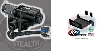 Wolverine R-Spec Viking VI KFI 3000 lb Winch Mount Kit /'14-/'18 Yamaha Viking
