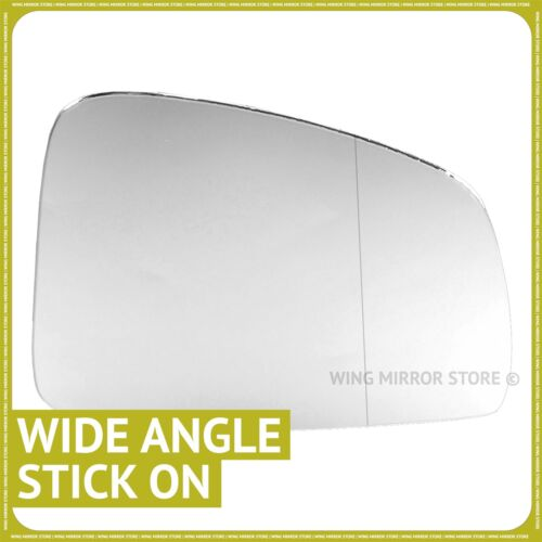 Renault Megane mk3 2008-2016 Droit Chauffeur Grand Angle Wing mirror glass