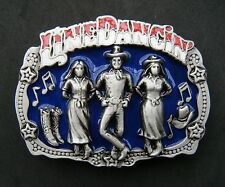 Boucle de Ceinture Western Line Dance Dancing Country Music Belt Buckle