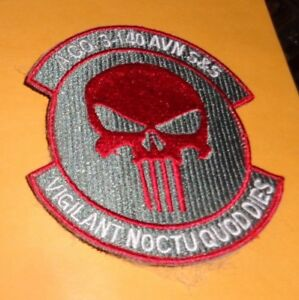 Color Patch hook//loop 3rd Battalion US Army D Co 4th Aviation Regiment