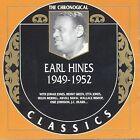 1949-1952 by Earl Hines (CD, Mar-2003, Classics)