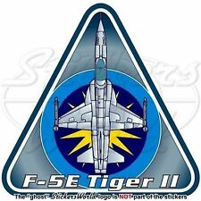 "Northrop F-5E Tiger II MALAYSIA Royal Malaysian AirForce RMAF TUDM Sticker 3.7"""
