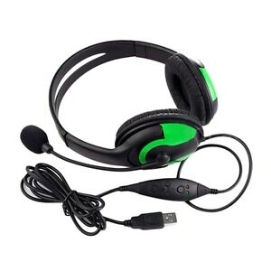 New-Wired-Headset-Headphone-Earphone-Microphone-For-PS3-Gaming-PC-Chat-LR