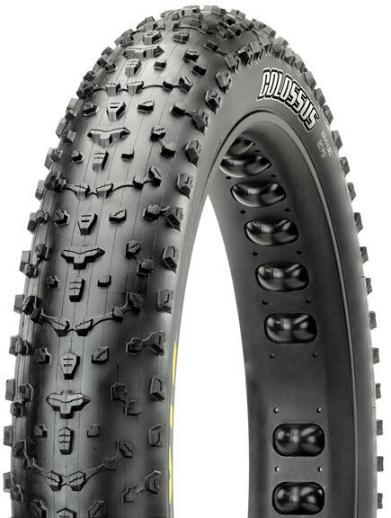 Maxxis Colosso Grasso Bicicletta Exo Tubeless Ready Mountain Bike Tire 26 x 4.8