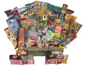 50-Japanese-Candy-box-10-Japanese-kit-kat-40-japanese-snacks-konpeito-pocky
