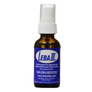 Lebalab-Leba-III-1oz-Dental-Spray-Pet-Canine-Feline-Dog-Cat-Tartar-Control