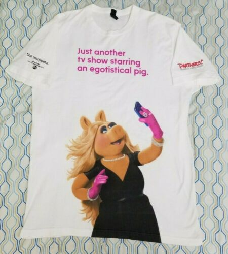 Vintage Muppets Miss Piggy All Over Print T Shirt