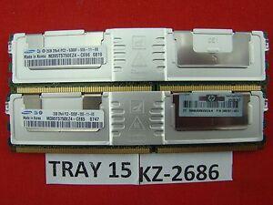 2gb Ram Ddr2 Samsung M395t5750ez4-ce66 Pc2 5300f Ecc Tr.15 #kz-2687 éLéGant En Odeur
