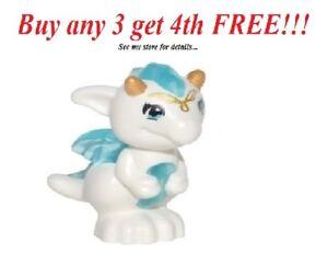 NEW-Lego-Friends-Animal-Pet-Elves-ESTARI-Baby-Dragon-White-Trans-Blue-41180