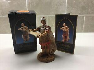 """Fontanini Roman 5/"""" Nativity Flavius Roman Soldier in Box 75522"""