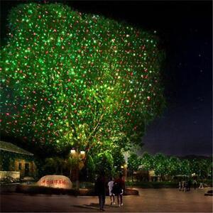 Laser Projektor Laserlicht Außen Garten Beleuchtung Wasserdicht