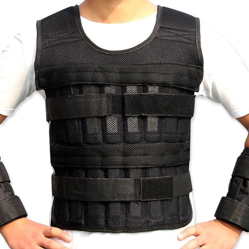 Weight Vest Boxing Training Adjustable Running Exercise Crossfit Loading Weight