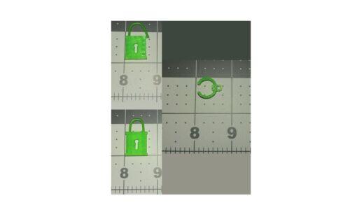 Replica parts green lock and cuff for He-Man MOTU Dragon Blaster Skeletor USA