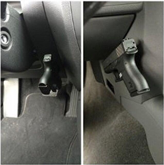 gun magnet tac mag pistol holder holster under bed desk door table