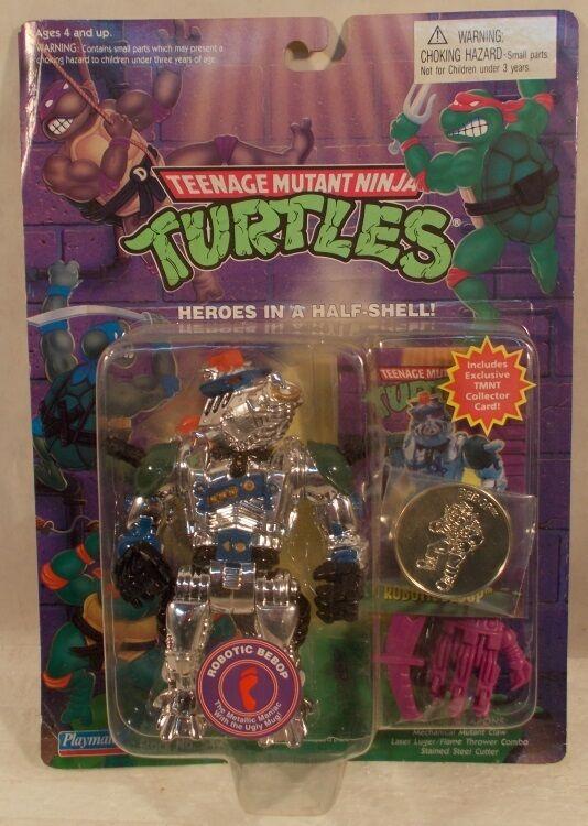 Teenage mutant ninja turtles - bebop - waffen w   karte & coin (moc)