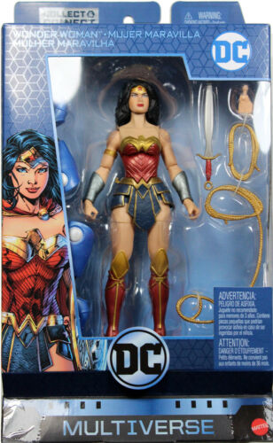 "SERIES 9 ACTION FIGURE ~ Mattel DC Multiverse ~ 6/"" REBIRTH WONDER WOMAN"
