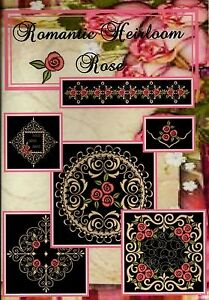 NEW-ROMANTIC-HEIRLOOM-ROSE-EMBROIDERY-COLLECTION-MULTI-FORMAT-CD-45-DESIGNS
