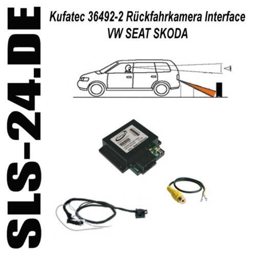Kufatec 36492-2 caméra de recul rfk interface vw rns510 mfd3 MFD 3 rns 510 skoda