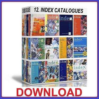 Sweet-Tempered 12 Index Catalogues Business, Office & Industrial 1988 To 2003 Pdfs Download
