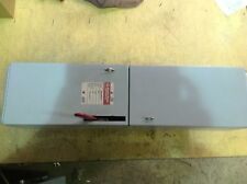 GE ADS36060HS 60 AMP 600 VOLT 3 POLE  FUSIBLE PANELBOARD SWITCH