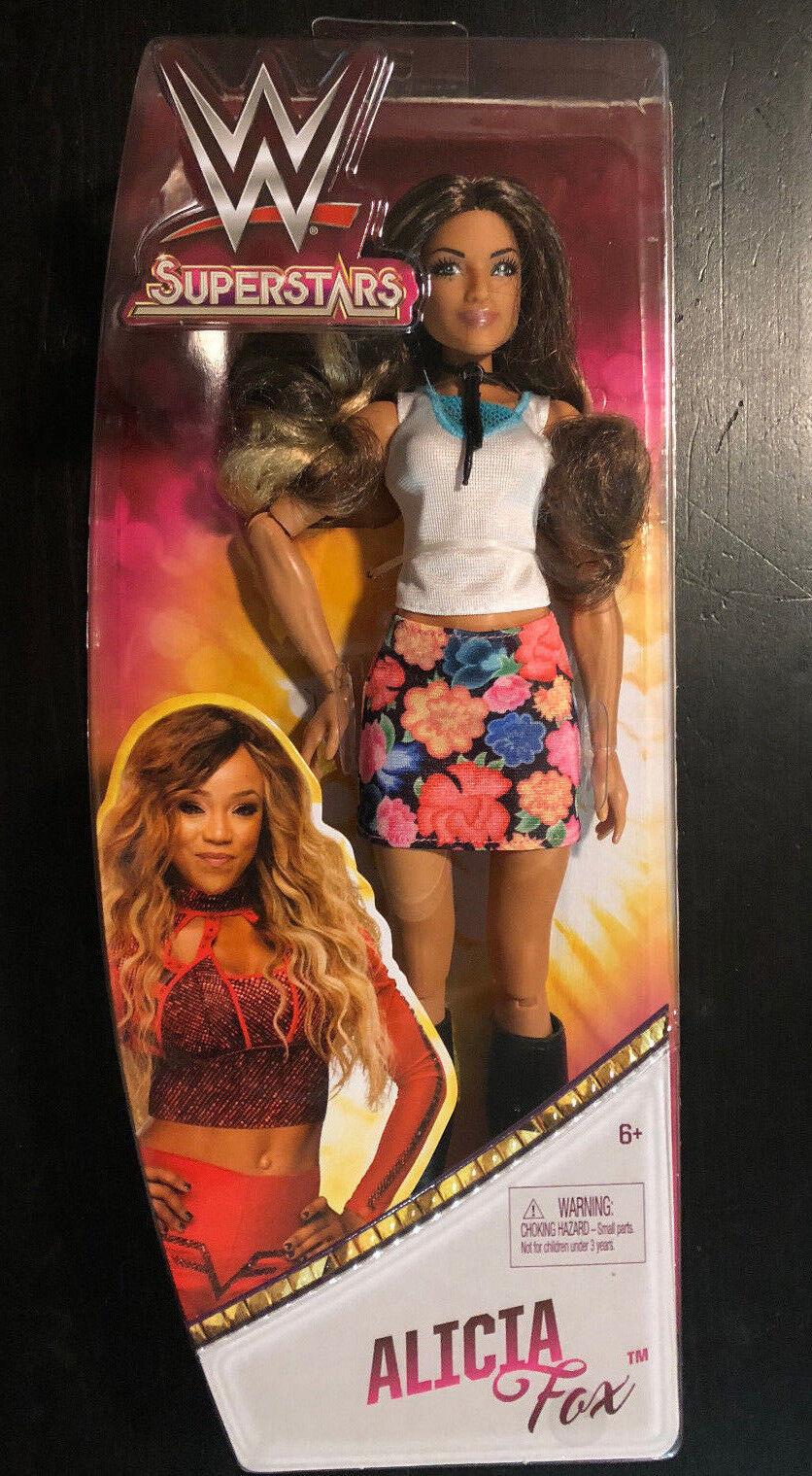 WWE SUPERSTARS ALICIA FOX DOLL WOMENS WRESTLING FASHION BARBIE 12  DIVA FOXY