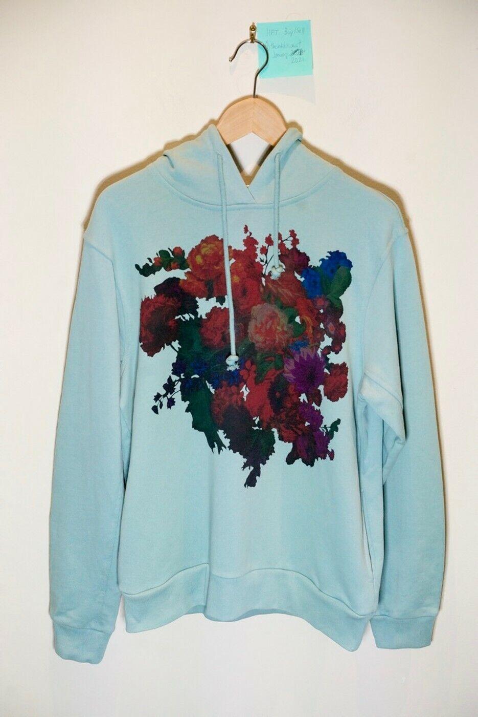 Dries Van Noten SS20 Floral Graphic Hoodie