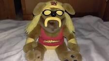 Hulk Hogan Bear Stuffed Animal WWE 2002 Rare WWF