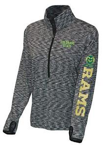 Colorado-State-Rams-Long-Sleeve-Athletic-Womens-XL-Running-Shirt-Jacket-Dri-Fit