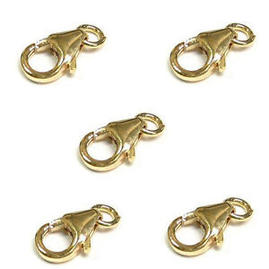 14K Gold Filled 9 mm Trigger Lobster 5pcs 25pcs 100pcs Item #6063 50pcs 10pcs